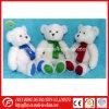 Brinquedo novo do presente do Natal do projeto do urso enchido