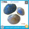Shell van de douane Houder van de Schotel van de Zeep van de Vorm de Blauwe Grijze Ceramische