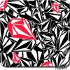 Tsautop 0.5m Width Diamond Black Red Design Dipping Hydrographic Water Transfer Printing Film