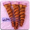 Extensión camboyana del pelo del enrollamiento del tejido del color 350 del pelo de Remy