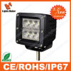 CREE Chips 18W LED Work Light met 7 Colors Cover Optional en EMC Function 18W LED Truck Lights