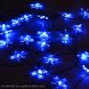 25のLEDの水晶星太陽ストリングライト