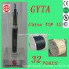 GYTA 6 de Openlucht Vastgelopen Optische Kabel van de Kern voor Mededeling