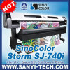 Sinocolor Sj-740I Digital Eco Solvent Printer com Dx7 Printhead, 2880dpi