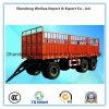 50t 3車軸貨物輸送の側面の完全なトレーラー