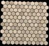 2016 de Rustieke Kleine Hexagonale Marmeren Tegel van het Mozaïek (oyt-M005)