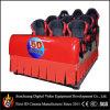 in Chili 5D Hydraulic Cinema met Nine Sports Chairs