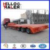 50 tonnes Lowbed Truck Trailer pour Tractor