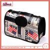 Saco carreg do animal de estimação Foldable e saco de ombro, teste padrão da bandeira
