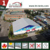 50m 큰 자동 전람 천막 옥외 전람 당을%s 백색 PVC 측벽