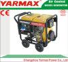 Générateur électrique diesel monophasé 7kVA 7kw Genset de bâti ouvert de Yarmax