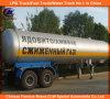 2 Radachse LPG-Tank-Transport-halb Schlussteil
