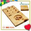 распределитель шпенька 9-Hole деревянный Pegboard для испытания Pegboard