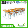 판매 (SF-30D)를 위한 싼 학교 가구 두 배 책상 그리고 의자
