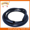Manguito de aire flexible de alta presión del PVC del negro azul