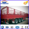 de 3-Axle 60t da parede lateral da estaca reboque Semi, da carga reboque Semi
