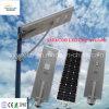 リチウム電池動きセンサーが付いている1つの統合された太陽LEDの街灯の保証5年の30W-100Wすべて