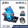 Perforadora caliente del agua de subterráneo de la venta de China Xy-200