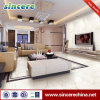 600X600X10m m Natural Full Polished Bright White Marble Tile para Flooring Wall para Villa