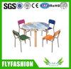 Tabela e cadeira do infantário da mobília das crianças ajustadas (SF-45C)