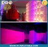 El nuevo estilo inflable de la iluminación de las paredes de aire de exhibición pared de la tienda