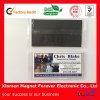 Heißer Verkaufs-preiswerte Papiermagnetische GummiVisitenkarten