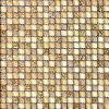 La parete interna decora il mosaico di vetro dorato (VMW3702)