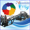 Linha da extrusão da placa do plástico ABS/PMMA/HDPE/PVC /PPR/PP