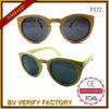 Óculos de sol de bambu de madeira por atacado Fx72 de China