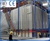 Powder verticale Coating Equipment per Aluminium Profile Coating
