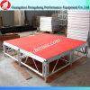 パフォーマンス使用の調節可能な折る段階のアルミ合金の可動装置の段階