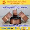 Fio de soldadura Er70s-6 do carretel 15kg/D270 do fio 0.8mm do MIG China