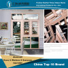 China-preiswerter Preis Aluminiumwindows mit sicherem Zaun