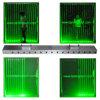 Luz laser de viga de la grasa verde, luces del disco