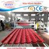 Aufbereitetes UPVC Kurbelgehäuse-Belüftung ASA glasiert Roofing das Blatt, das Maschine herstellt