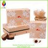 Чувствительная коробка косметики печатание белого цветка