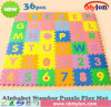 36PCS Kids Baby Alphabet Number Interlocking EVA Foam Floor Puzzle Play Mat