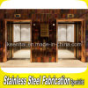Mirror decorativo Stainless Steel Elevator Door per Buildings