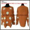 도매 최고 Fahional 숙녀 둥근 목 긴 소매 스웨터에 의하여 뜨개질을 하는 스웨터 주식 (LY004)