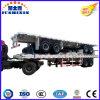 40FT twee-as Flatbed Semi Aanhangwagen van de Container van de Aanhangwagen
