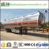 Remorque de réservoir de carburant d'alliage d'aluminium pour la distribution légère de carburant diesel