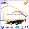 Tri-Wellen 13 Meter Aluminium-Befestigten Van/kastenähnlichen Bulkladung-Dienstschlußteil mit konkurrierendem Fabrik-Preis