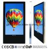 De muur zette de Volledige LCD van het Netwerk van HD 3G WiFi Kiosk van de Reclame van het Scherm op