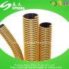 Boyau d'aspiration renforcé par spirale flexible de PVC Vavuum