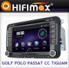 フォルクスワーゲンPassat Cc Sagitar Tiguan Golf VI (9001GD)のためのHD DVB-T MPEG4のHifimax Car DVD GPS Navigation