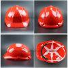 조정가능한 하네스 빨간 쉘 맨 위 보호 헬멧 (SH503)