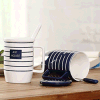 Populärer Geschenk-Decklack-Becher, kampierender Becher, Kaffeetasse, Enamelware