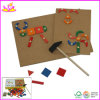 2015 ново и Popular Wooden DIY Puzzle Toys, высокое качество Wooden Block Toy DIY Puzzle, Hot Sale Wooden DIY Puzzle Toys W03b012