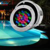 LED subacqueo Built in Pool Light con Stainless Steel Face Ring