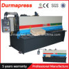 CNC 유압 QC12y-16X5000 장 격판덮개 절단 깎는 기계